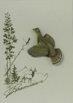 Grouse Tie Tack