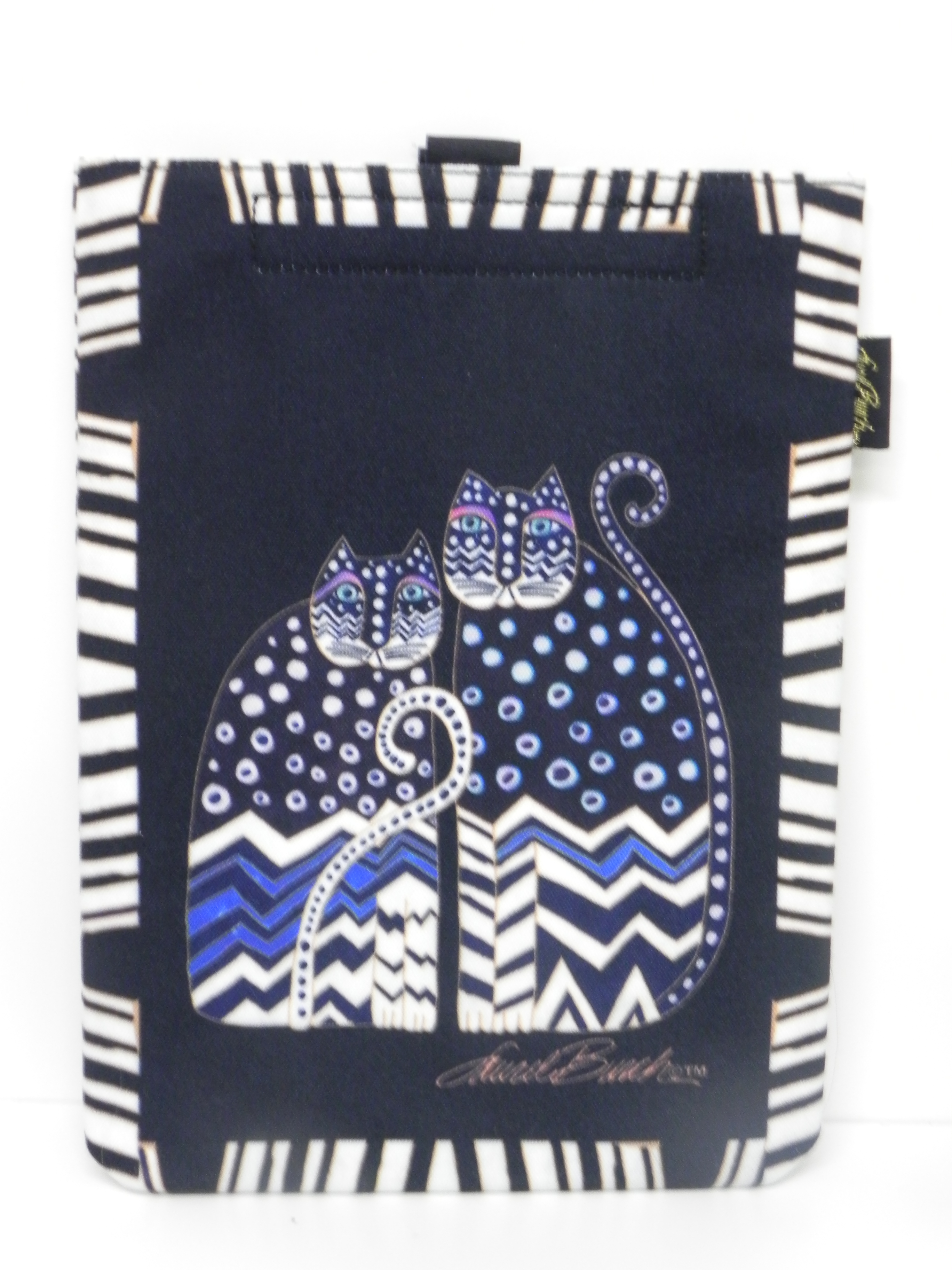 Laurel Burch iPad cover - black