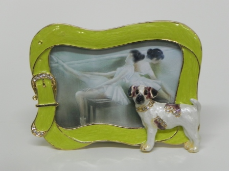 Terrier picture frame